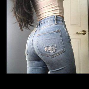 Good American Good Legs Crop Jeans 00 24